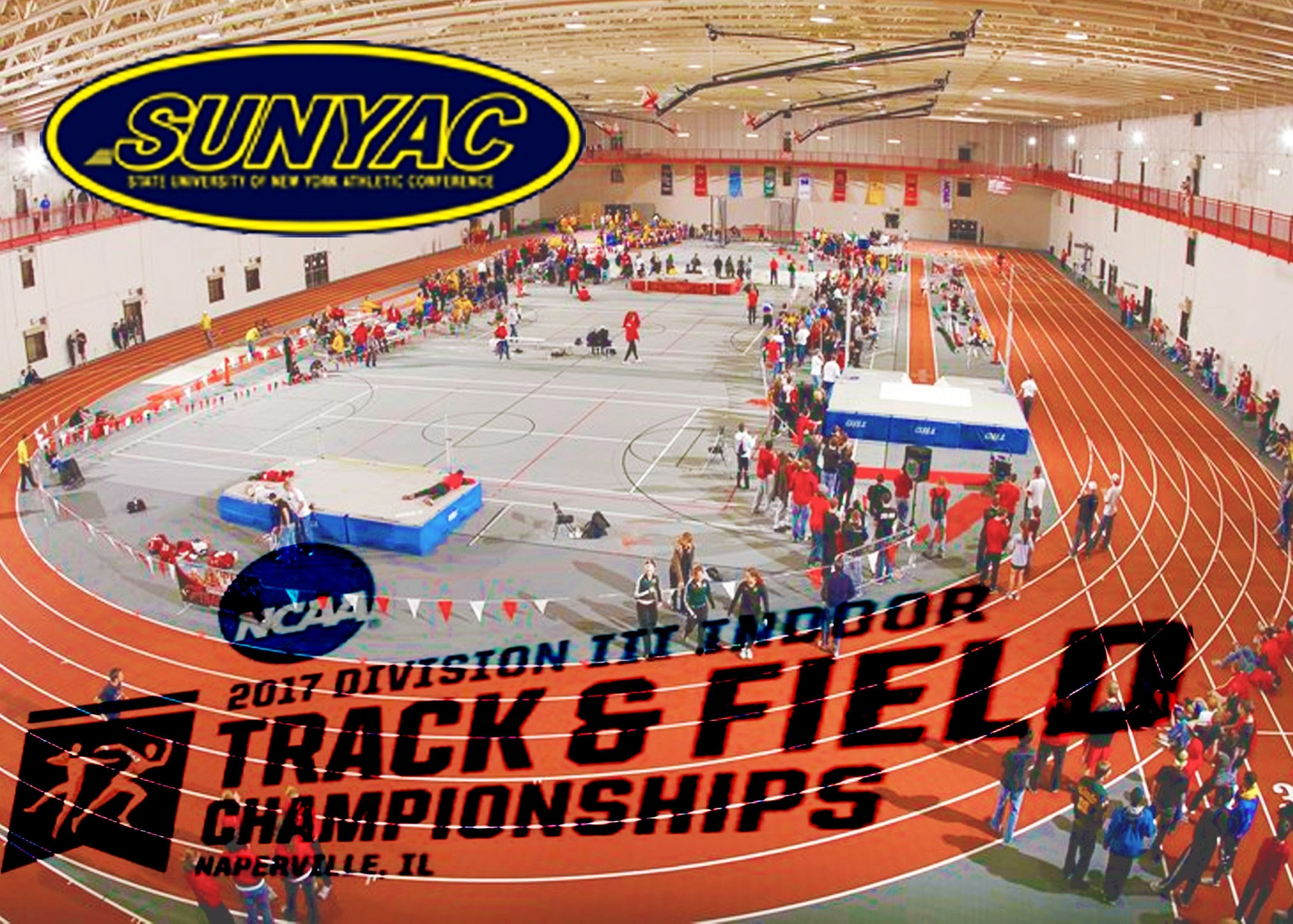 National Champions & All-America Honors for SUNYAC Indoor Track & Field Athletes