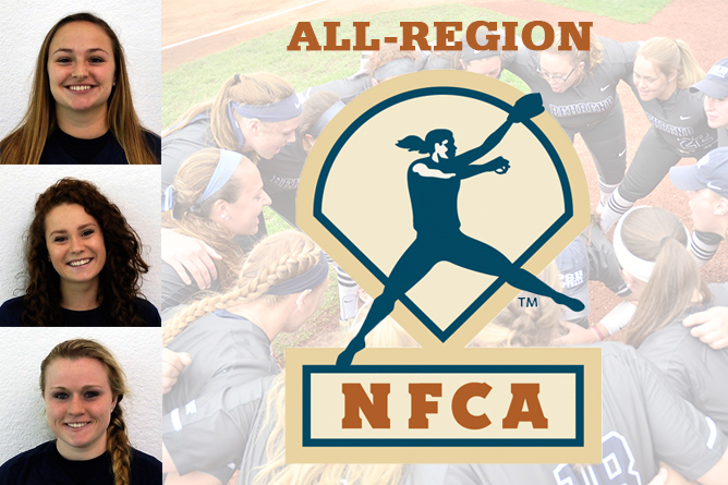 Three Named to NFCA Softball All-Region Team
