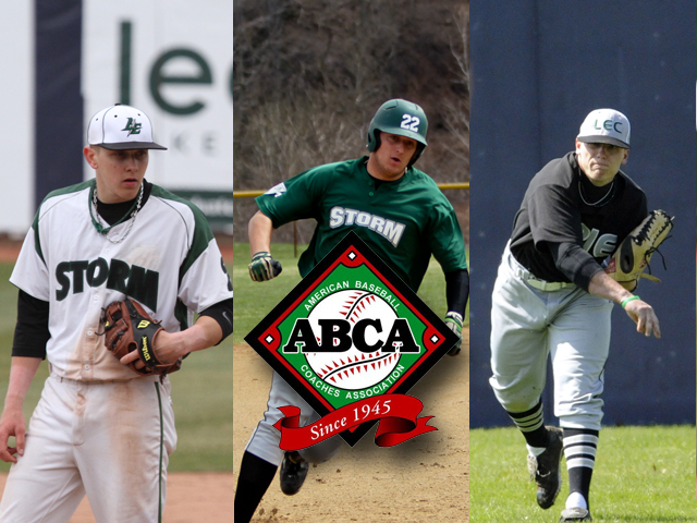 Storm Places Three on ABCA All-Region Team