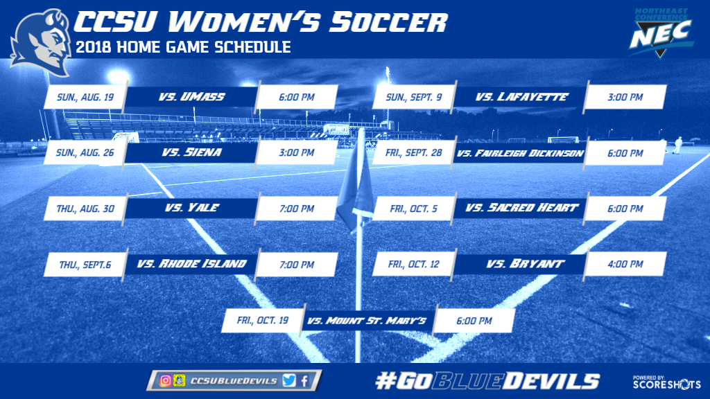 Women's Soccer Announces 2018 Schedule