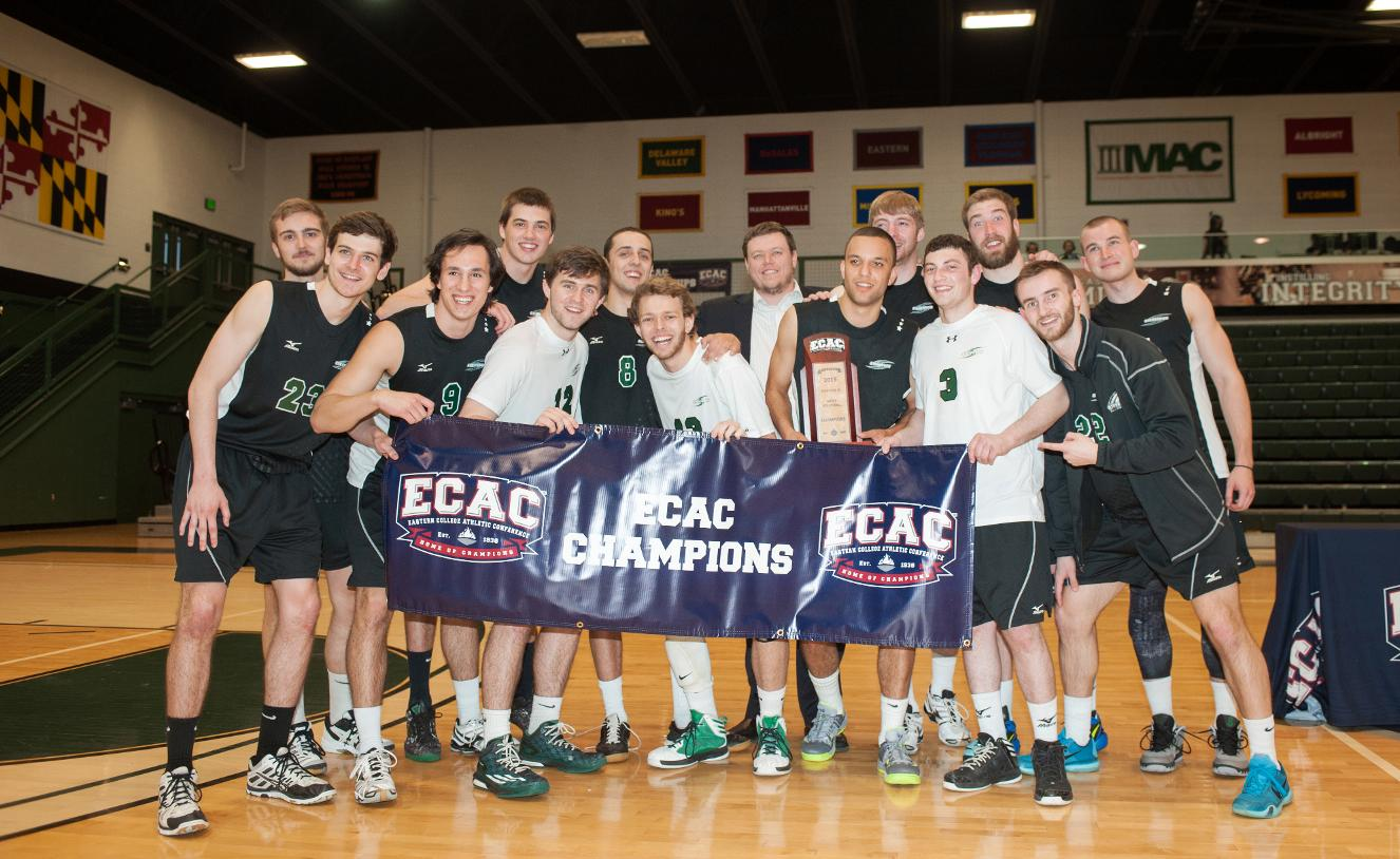 2015 ECAC Men's Volleyball Title Game Featured on Mustang Rewind