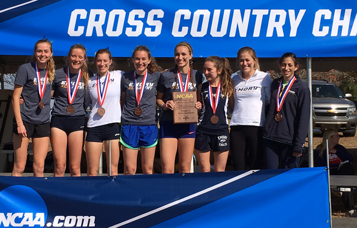 Emory Women's Cross Country Team First At NCAA South/Southeast Region Championships