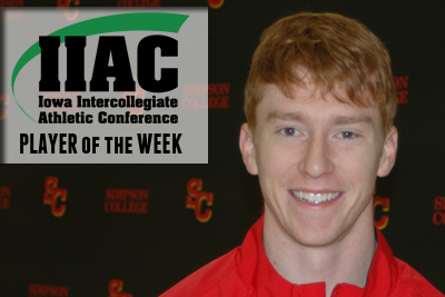 Cord named IIAC Performer of the Week