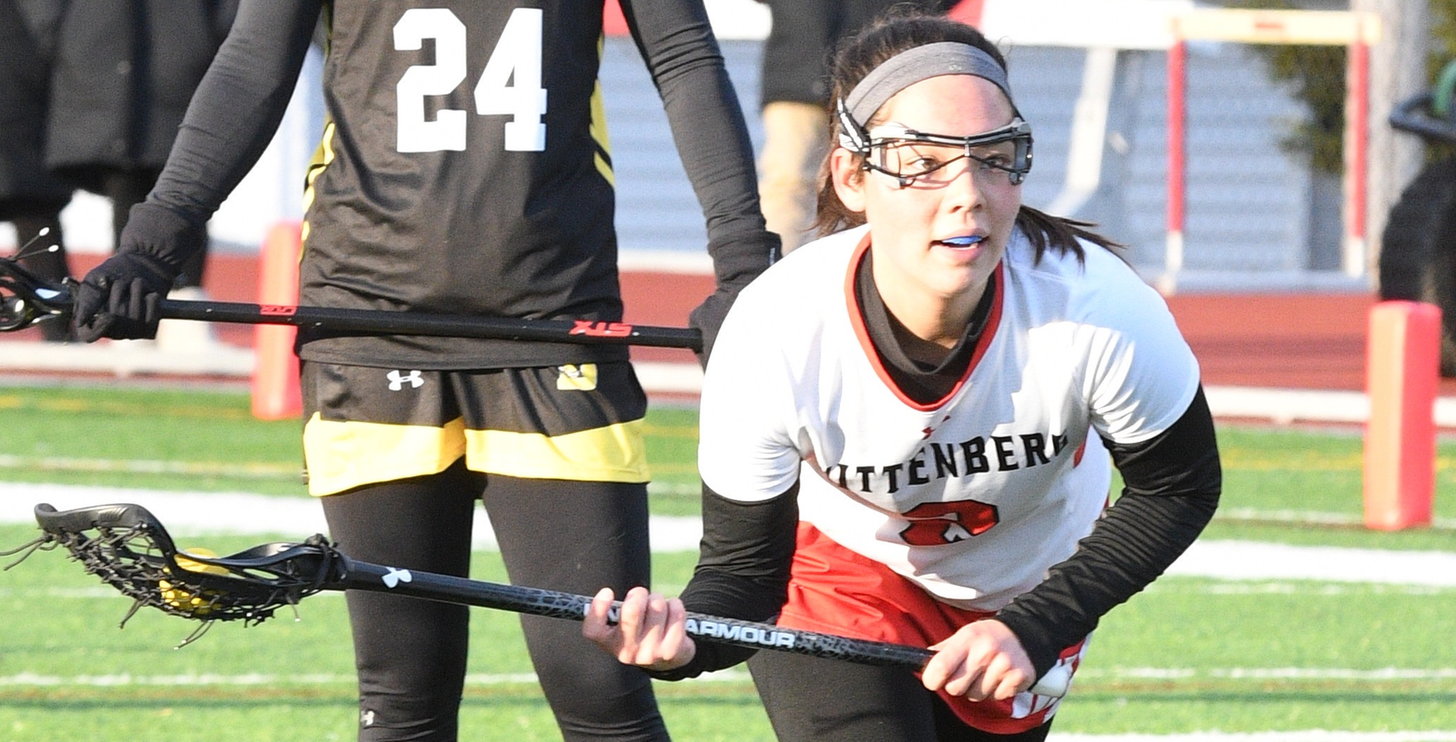 Wittenberg Women's Lax Holds Off Ohio Wesleyan 13-12