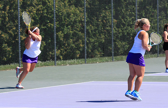 Women's Tennis Squad Earns 6-3 Victory Against American International