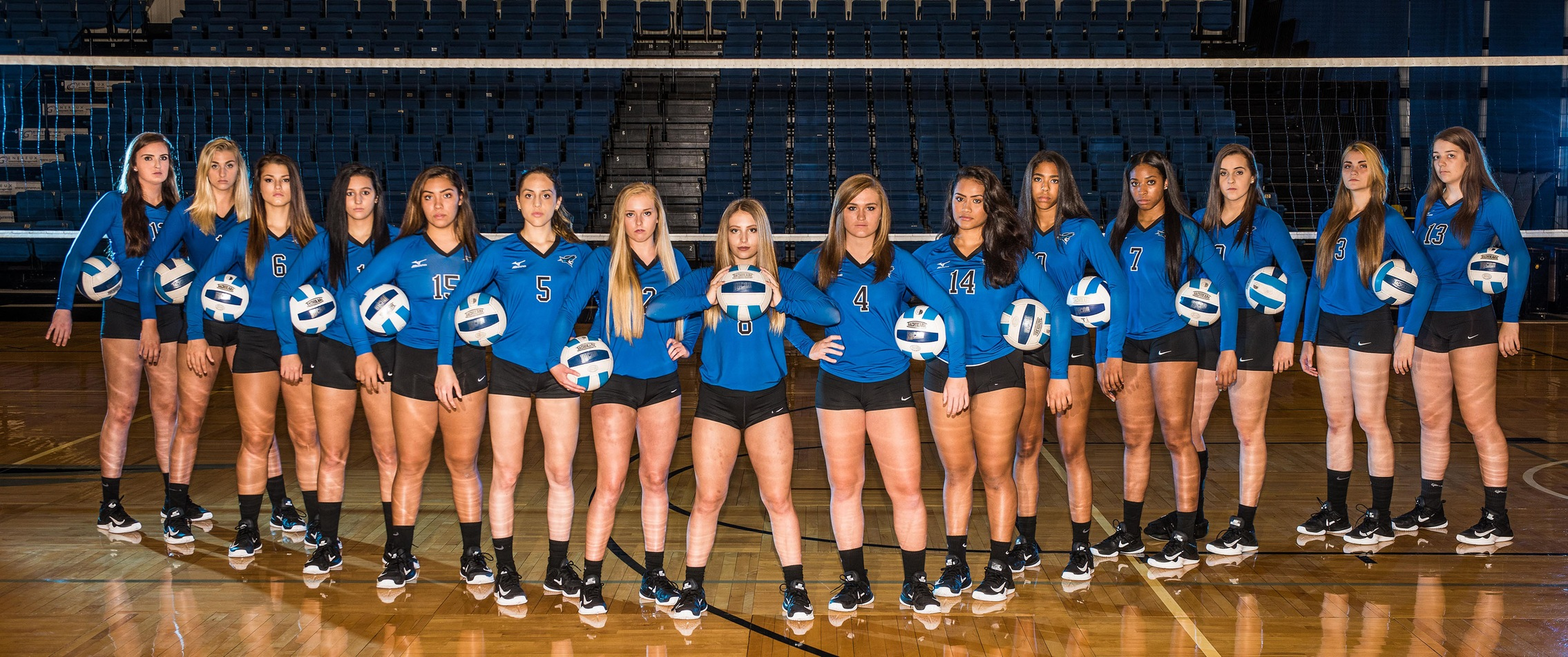 Reiver Volleyball stands out in the classroom