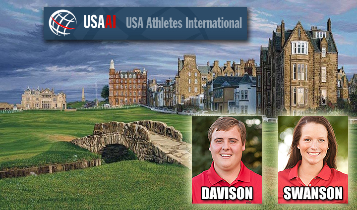 Bulldog Golfers Davison, Swanson Chosen For U.S. Ambassador Team To Scotland