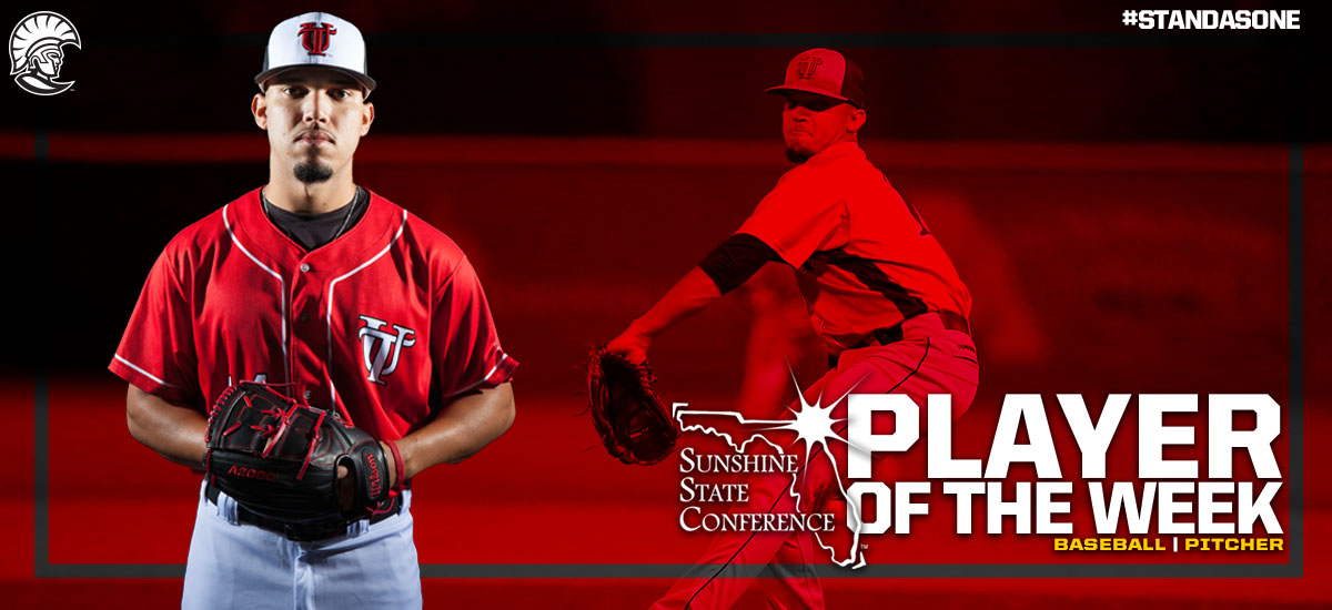 David Lebron Earns Third SSC Pitcher of the Week Honors