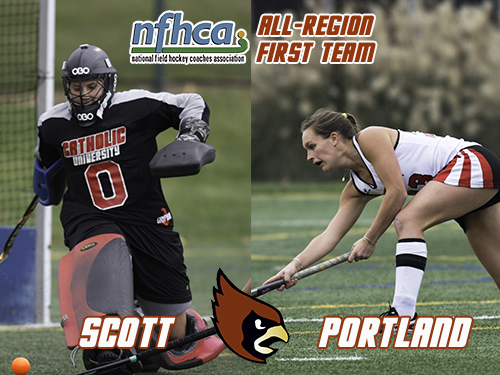 Portland and Scott Selected to Longstreth / NFHCA All-Region First Team