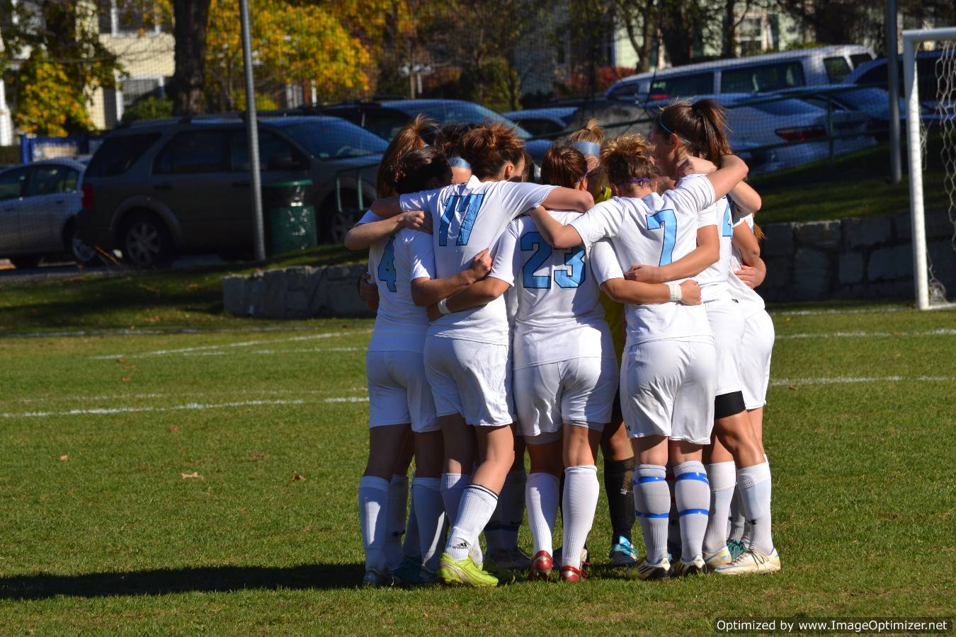 Second Half Goals Propel Women's Soccer to 2-0 Victory over Coast Guard