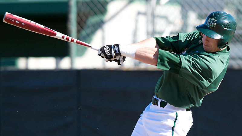 BIG SIXTH INNING LEADS BASEBALL TO SHUTOUT WIN, 10-0, AT SAINT MARY'S