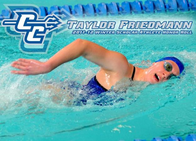 Friedmann Tabbed Winter Scholar Athlete