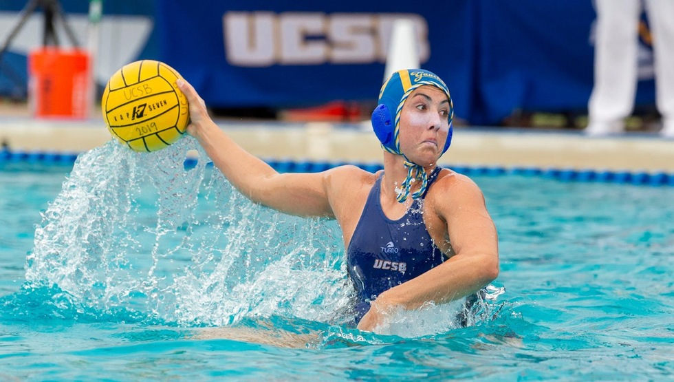 Kate Pipkin scored her 40th goal in the Gauchos' 6-3 win over Long Beach State on Saturday afternoon. (Photo by Jeff Liang)