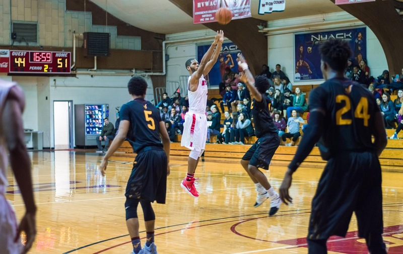 Collective Offensive Effort Helps Men's Basketball Get Past Concordia