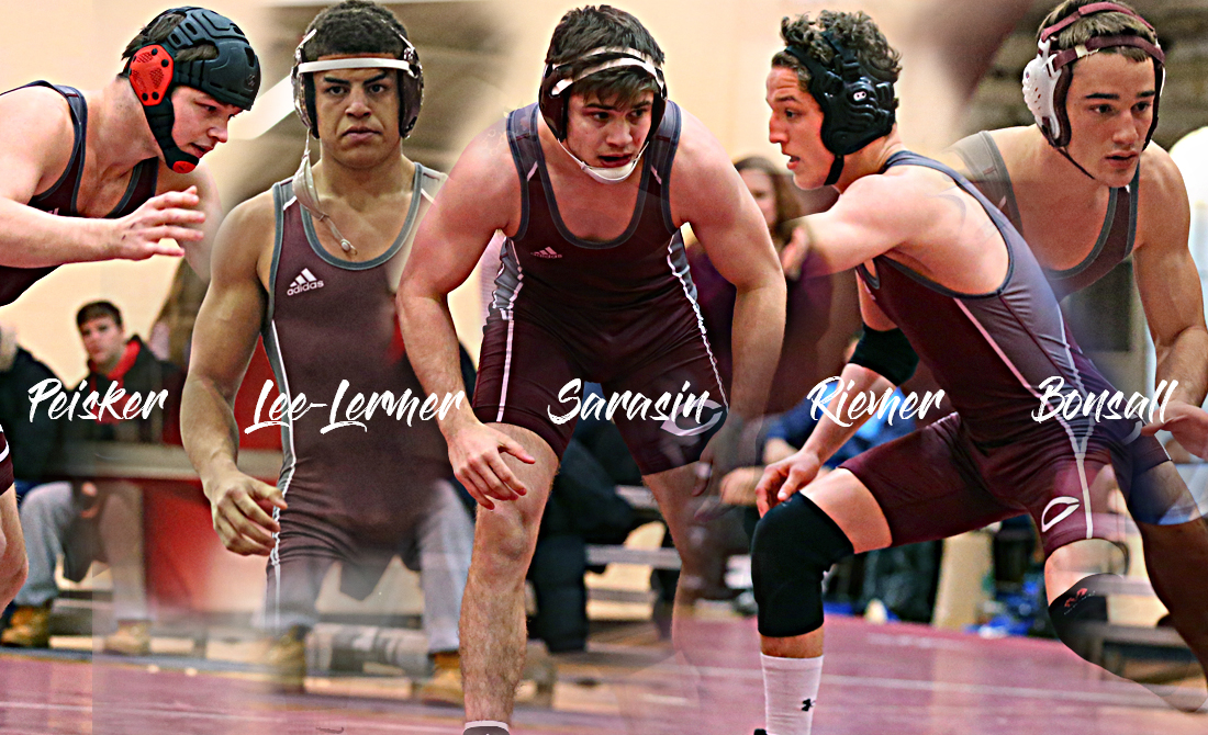 Kyle Peisker, Kahlan Lee-Lermer, Ben Sarasin, Cole Rimer and Steve Bonsall all advanced to the championship semifinals of the 2019 regional.