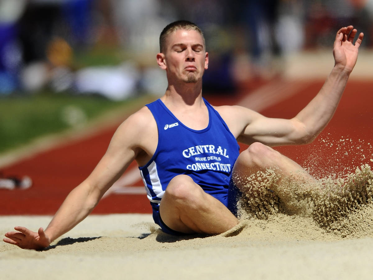 Berube Finishes Seventh at UConn Decathlon Meet