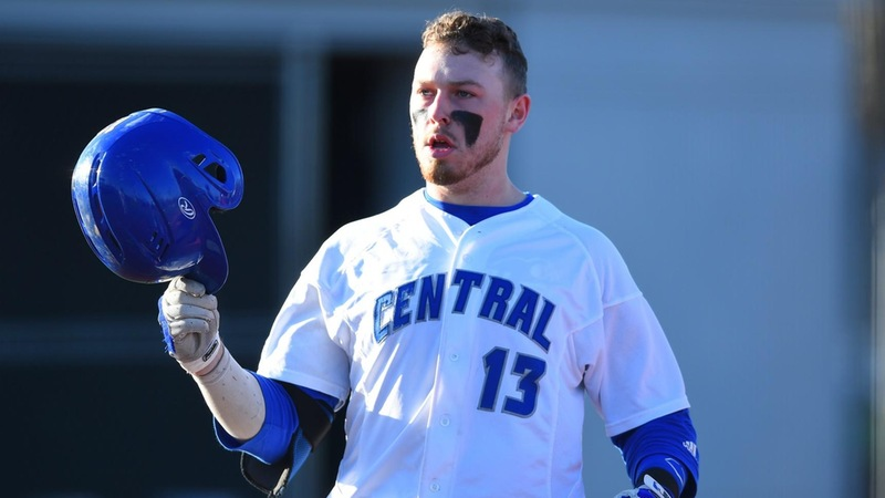 Baseball Closes Out Series with 9-7 Win Over Bryant