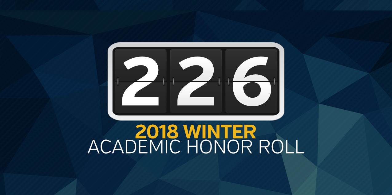 34 earn SCAC Winter Academic Honor Roll honors