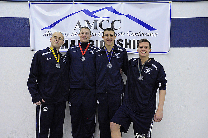 Patterson Named AMCC Swimmer of the Year; Wallace Coach of the Year