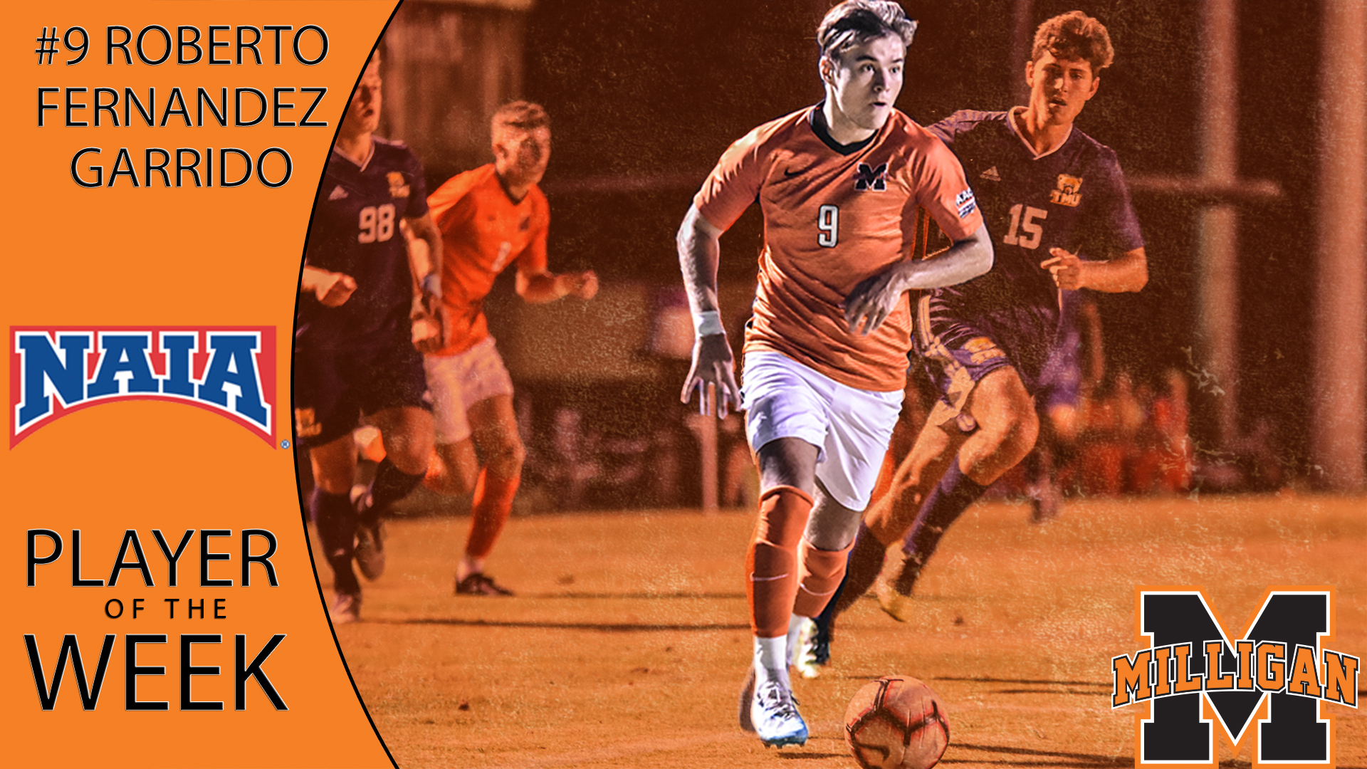 Garrido wins NAIA player of the week