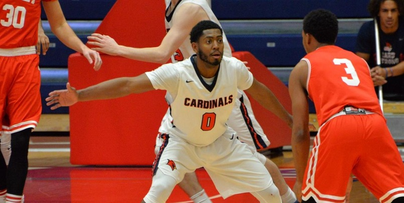 DJ Hoskins had a team-high 11 points for SVSU in Saturday's game at Lewis...