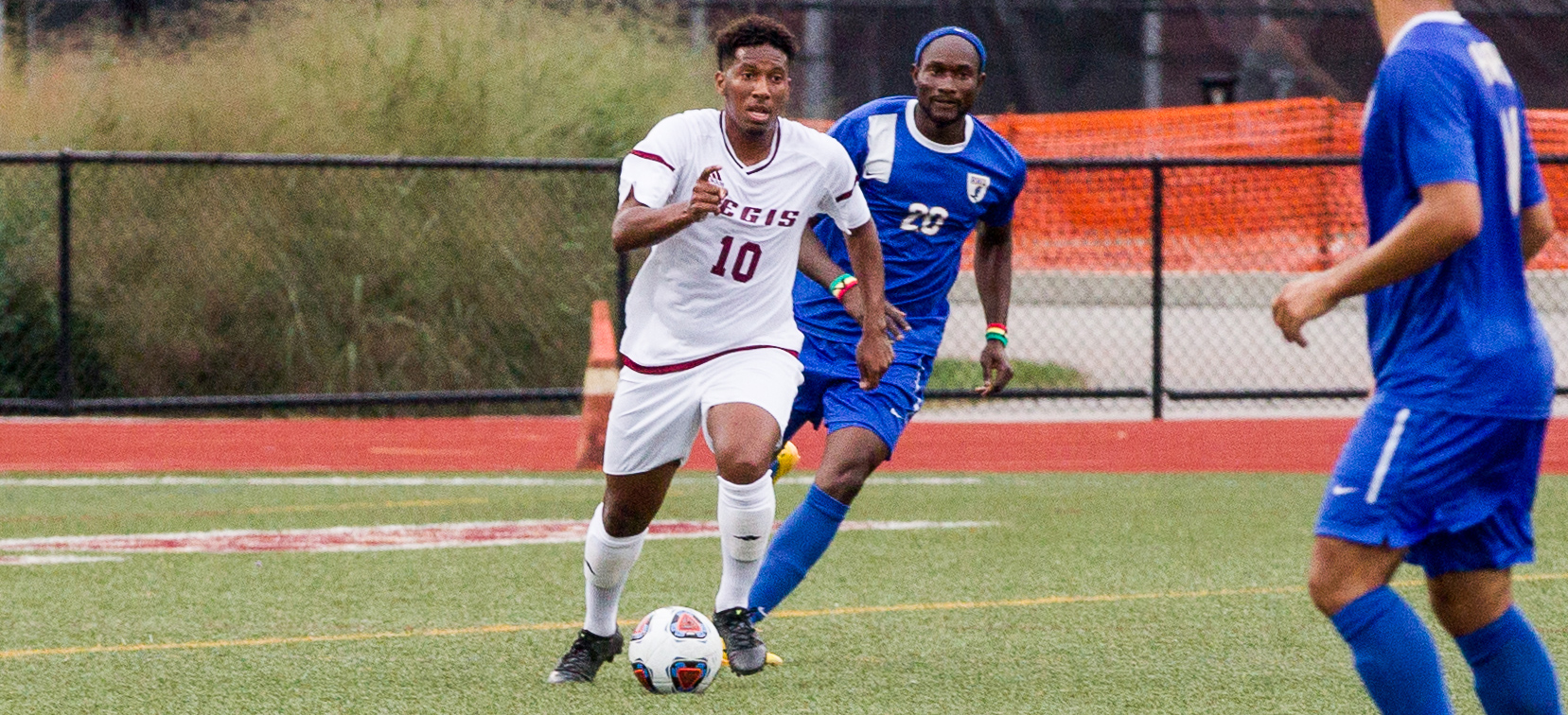 Barbosa Sets New Assist Record, Men's Soccer Tops Rivier In OT
