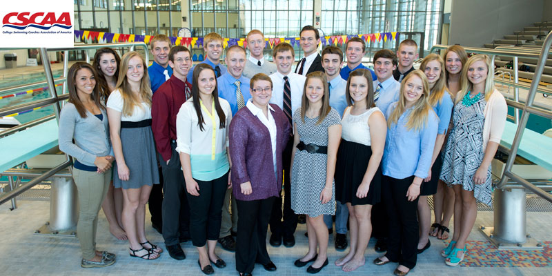 Swimming and diving teams achieve Scholar All-America status