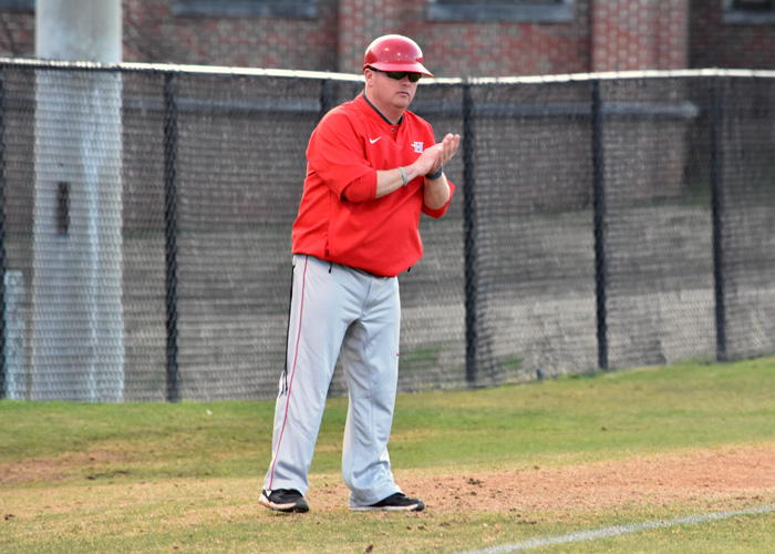 Huntingdon head coach D.J. Conville reached win No. 300 on Tuesday. In his 12th season as head baseball coach, Conville has a career record of 300-160.
