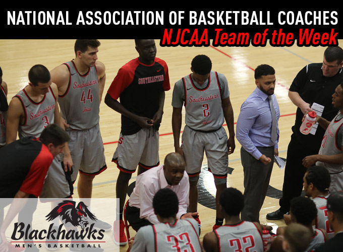 Men's Basketball Earns NABC Team of the Week