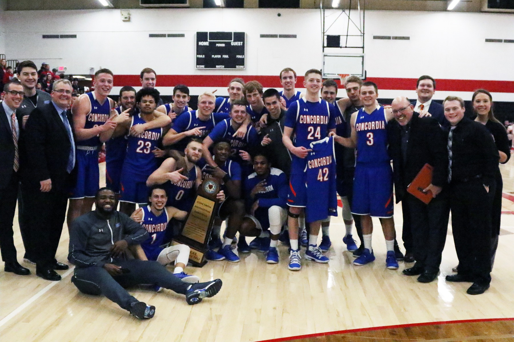 Men's Basketball claims CIT Crown