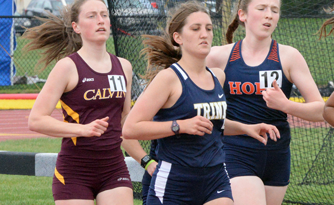 Members of Women's Track Competes at Dr. Keeler Invitational