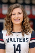Olivia Oxendine, Sophomore MB, Walters State, TCCAA Volleyball Player of the Week 2/15