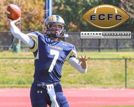 Gallaudet selected to finish third in ECFC preseason coaches poll
