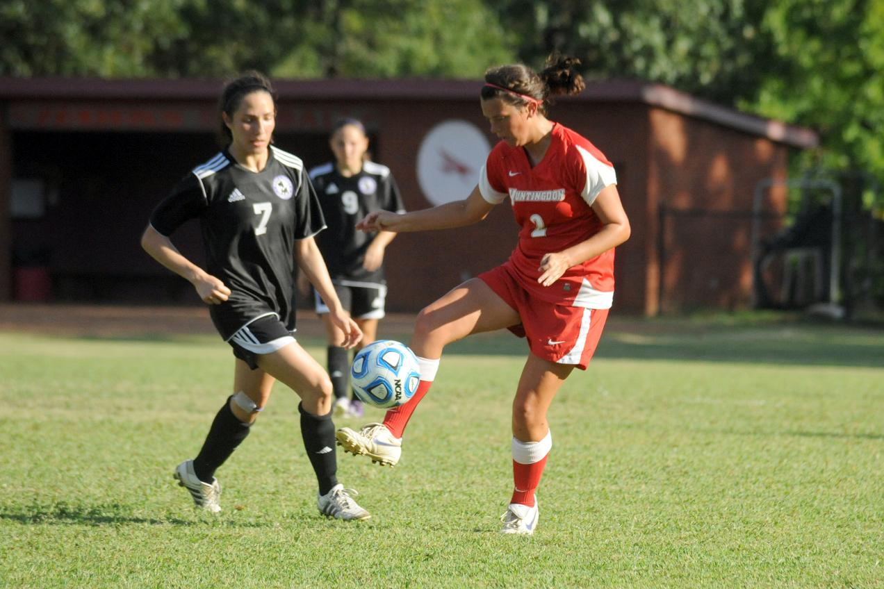 Huntingdon women's soccer loses at Methodist