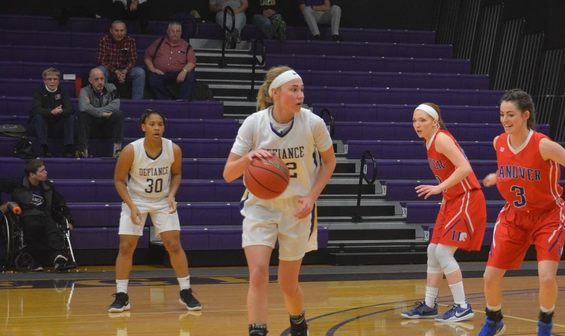 Women's Basketball Falls in HCAC Action Against Hanover