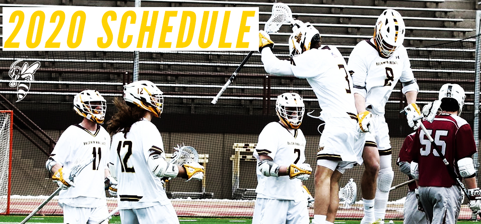 Men's Lacrosse Announces 2020 Schedule