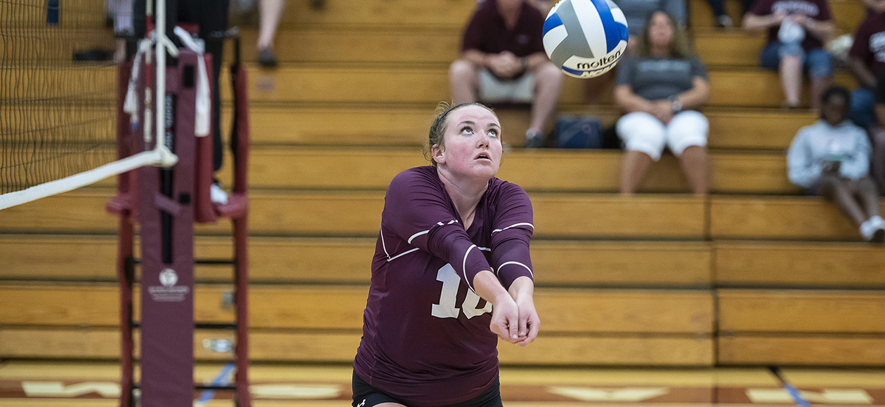 Women's Volleyball Handles Mount Holyoke In Straight Sets
