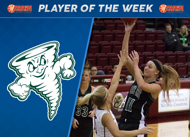 Lake Erie's Gabor Named USBWA D2 National Player of the Week