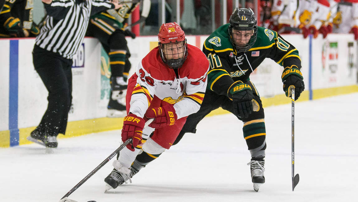 Ferris State Shuts Out Seawolves Before Sellout Senior Night Crowd In Regular-Season Home Finale