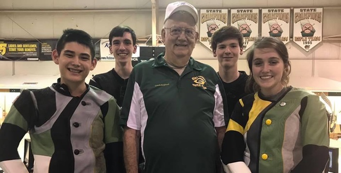 Ware Rifle Team Blasts Past St. Vincent 1168-1053