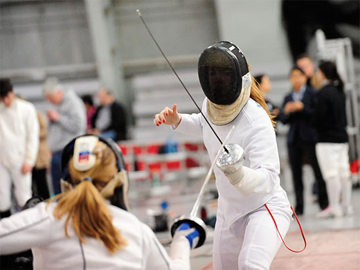 Women's fencing puts scare into nationally-ranked Penn State