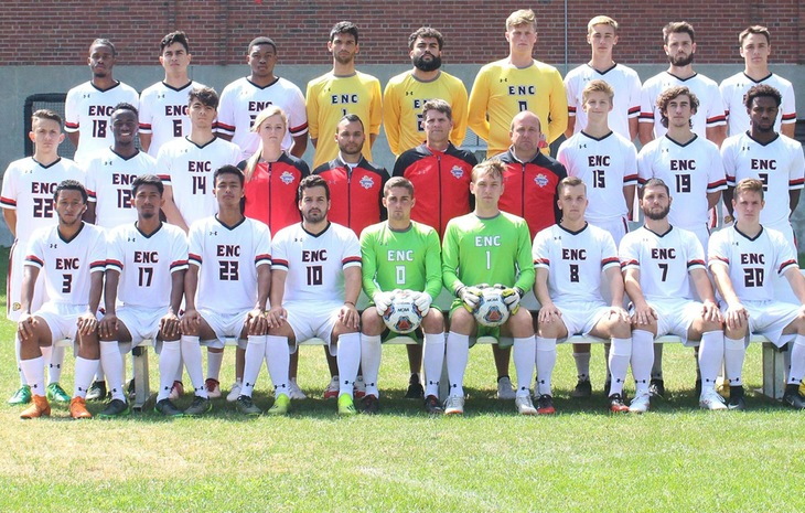 No. 3 Seed Men's Soccer Heads to No. 2 Mitchell Friday for NECC Semifinal Showdown