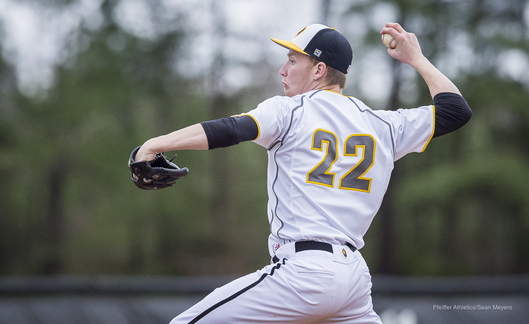 Richmond Strikes Out Nine in Pfeiffer Win Over WPU