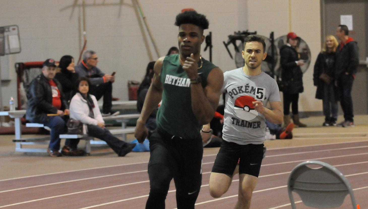 Bison track and field teams compete at Capital Invite