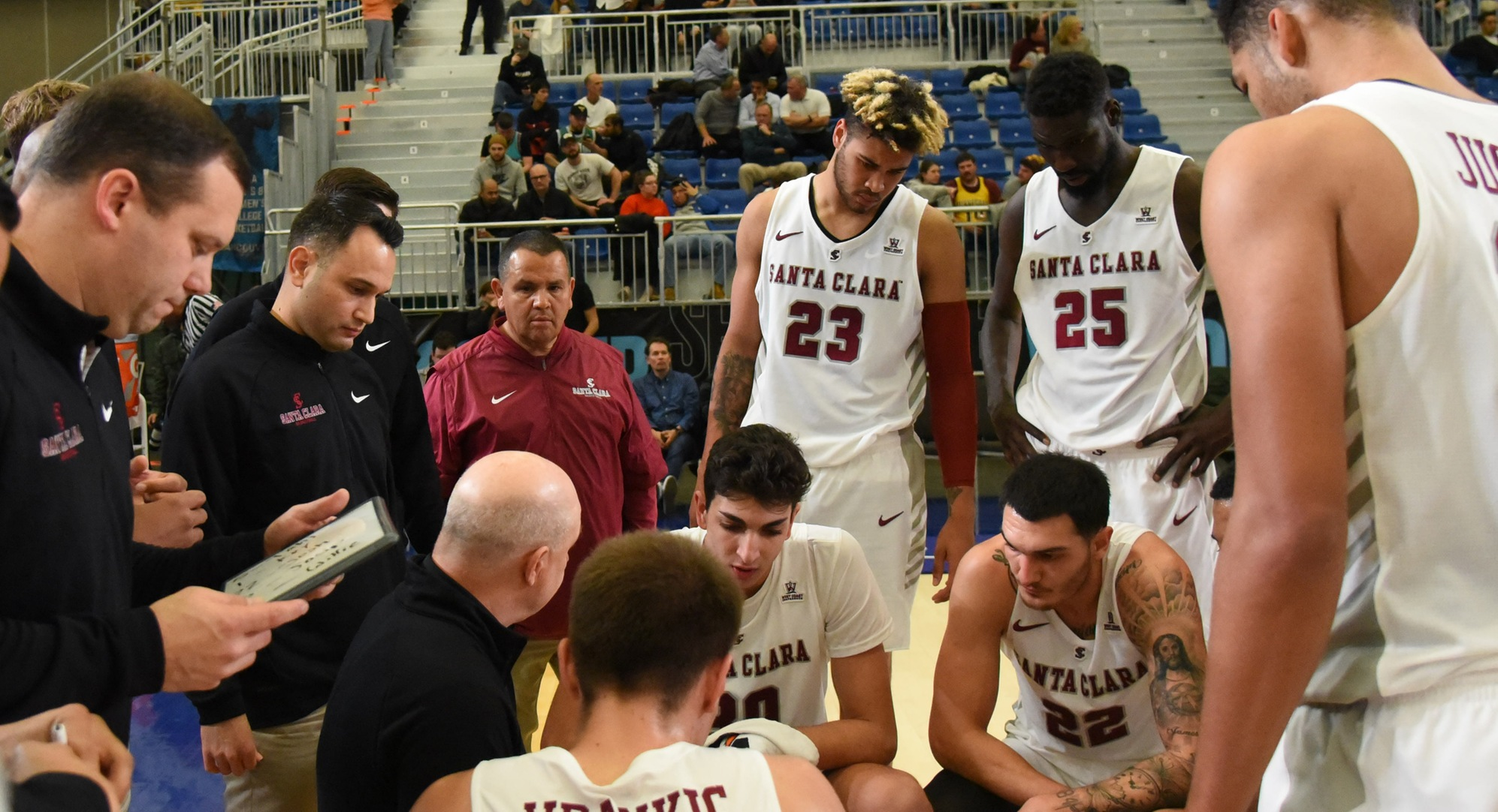 Men's Basketball Plays First Road Game, Faces Crosstown Rival San Jose State