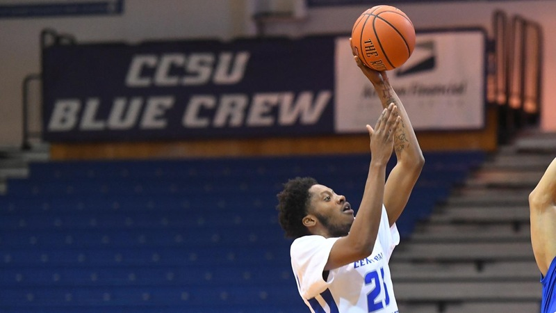 Men's Basketball Unable to Keep Pace in Second Half at Bryant, Falls 76-64