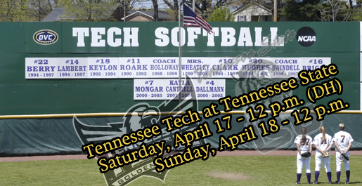 Tech's upcoming schedule includes three at TSU before coming home next week