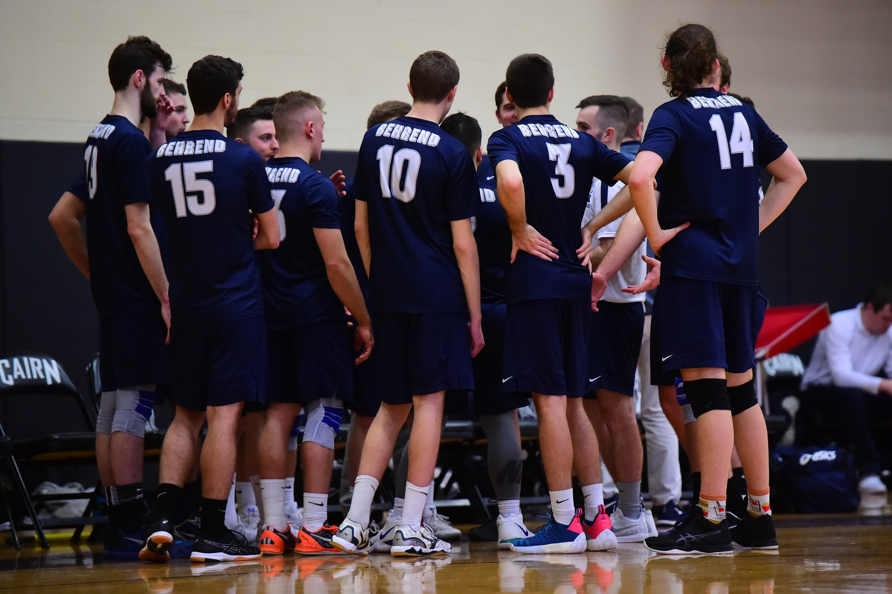 Men's Volleyball Travels to Geneva Saturday