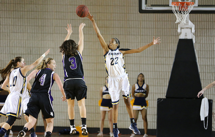 No. 16 Emory Women's Basketball Wins At NYU -- Sits Atop UAA standings