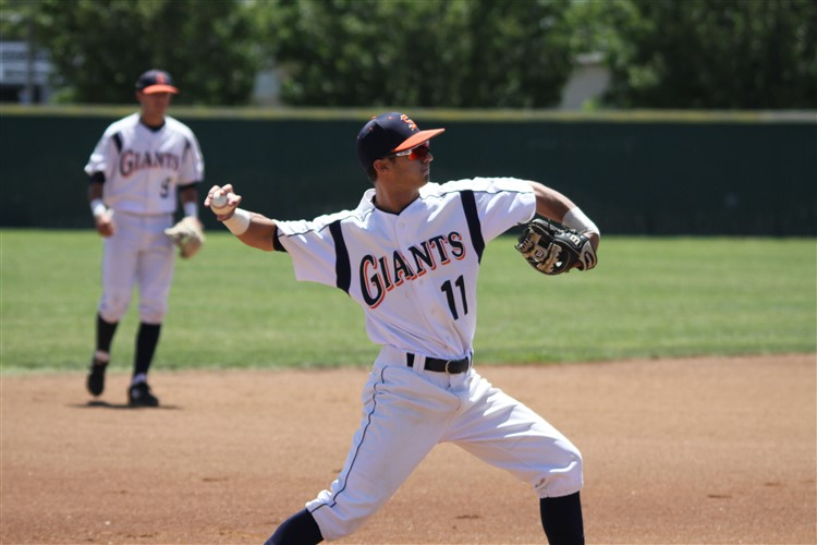 Giants season ends in game two defeat